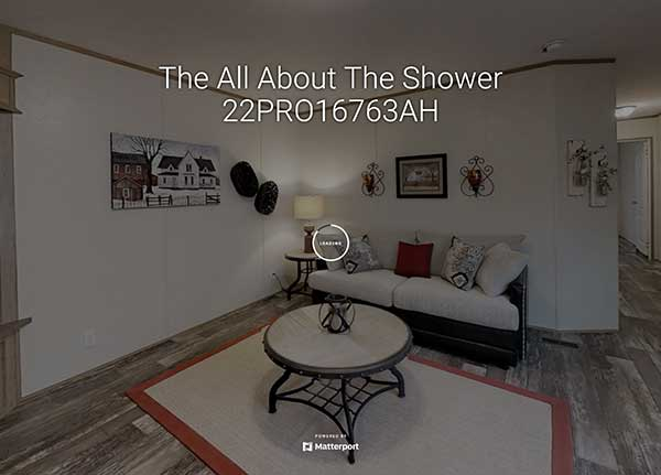 All About the Shower Model Home