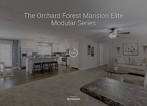 The Orchard Forest Mansion Elite Modular Series Model Home